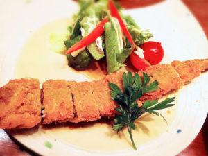 秋刀魚の味噌カツ