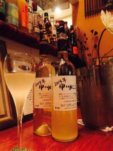 ヌーヴォーとグラスワイン