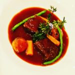 和牛ほほ肉の煮込み 赤ワインデミソース