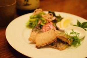 千葉県産 太刀魚の唐揚げ