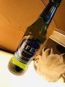 トルコビール エフェス