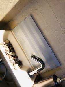 洗面所の貝殻