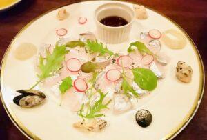 太刀魚の炙り焼き